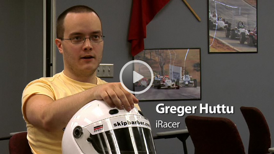 Greger Huttu In A Real Race Car Iracing Video Feature