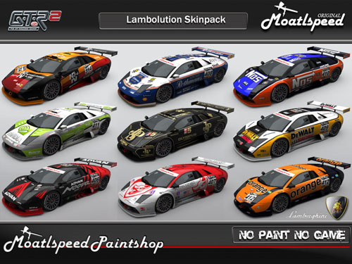 moatlspeed lamborghini gtr2 pack released sim racing news. Black Bedroom Furniture Sets. Home Design Ideas