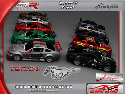 Mustang Cup Car Pack Released Virtualr Sim Racing News