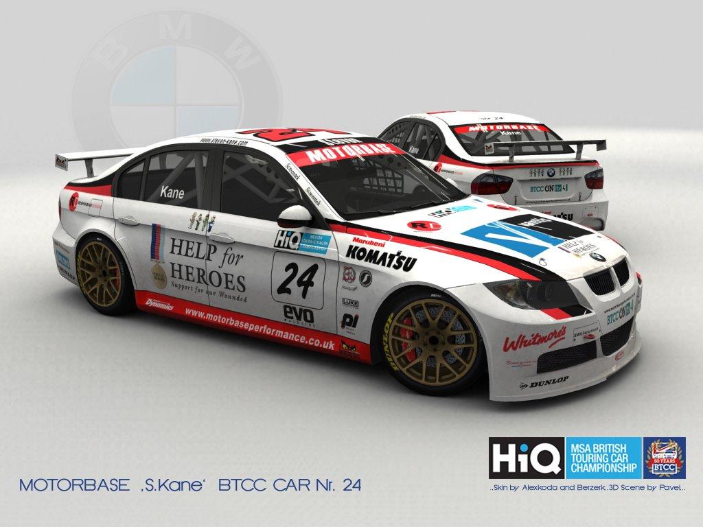 WTCC BMW E90 – BTCC Skin Previews – VirtualR.net – Sim Racing News