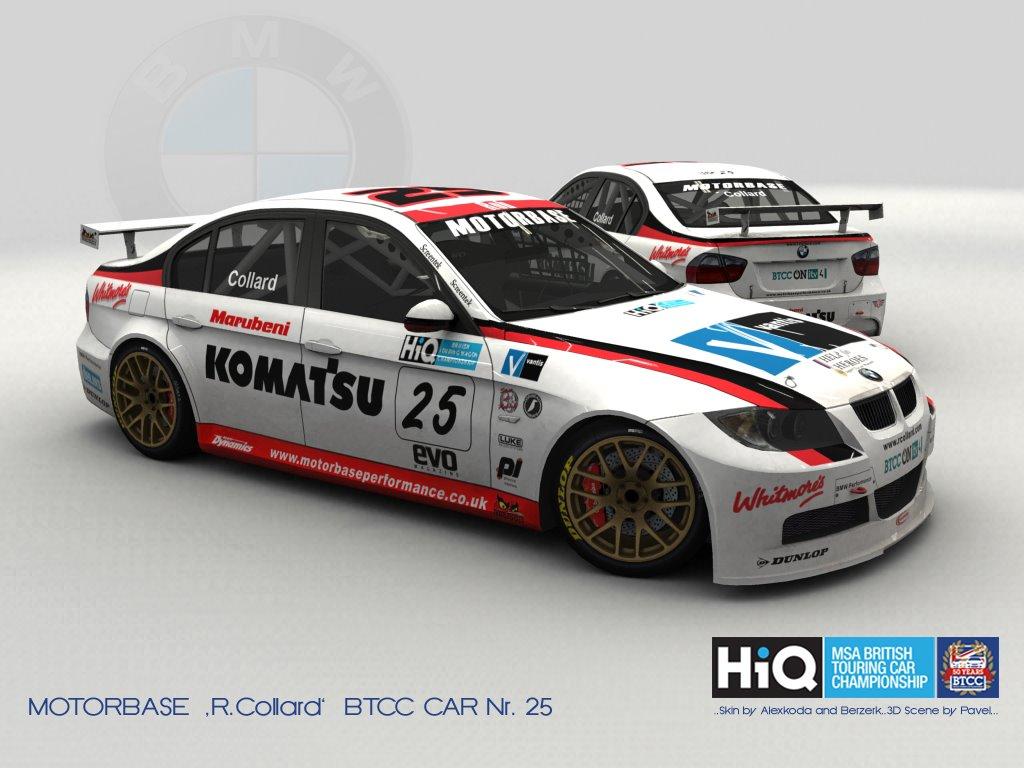 WTCC BMW E90 – BTCC Skin Previews – VirtualR.net – 100% Independent Sim Racing News