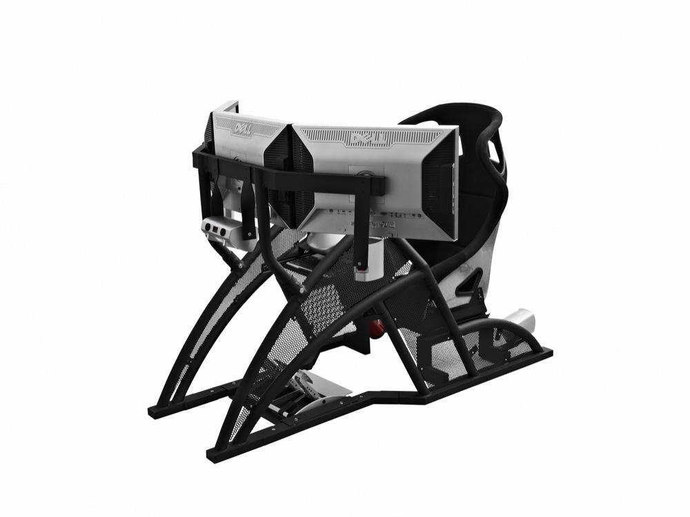 fanatec rennsport cockpit unveiled 100. Black Bedroom Furniture Sets. Home Design Ideas