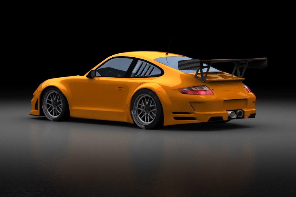 Porsche 997 Gt3 Rsr For Gtr2 Renders Virtualr Net
