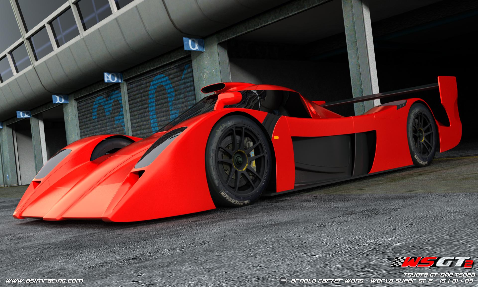 world super gt 2 toyota gt one render sim racing news. Black Bedroom Furniture Sets. Home Design Ideas
