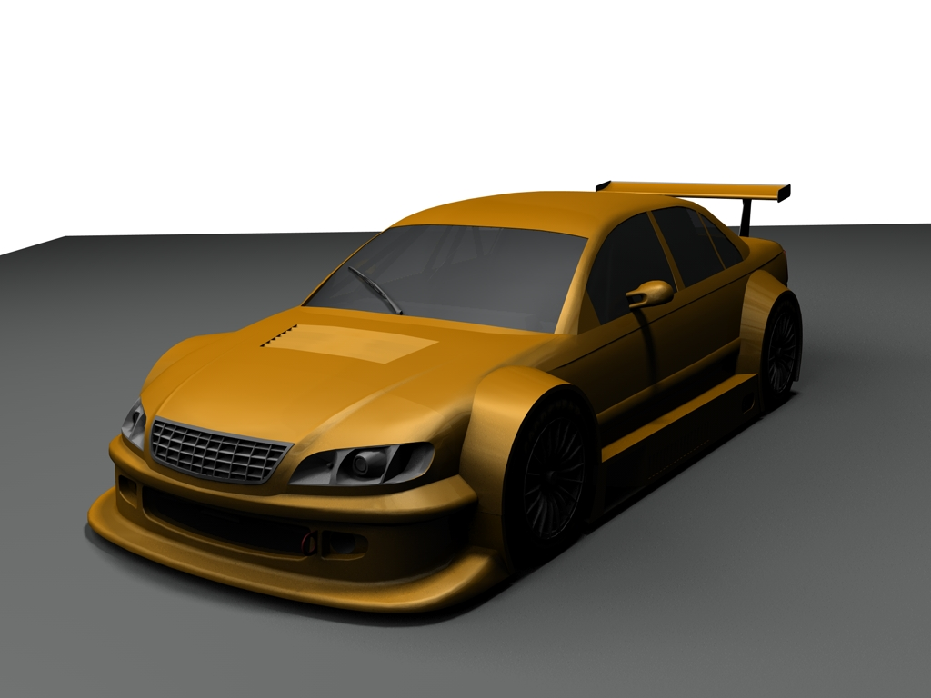v8 star mod opel omega renders sim racing news. Black Bedroom Furniture Sets. Home Design Ideas