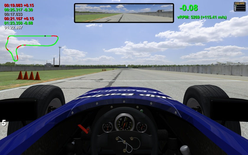 iRacing com Telemetry HUD 1 9 – Released – VirtualR net