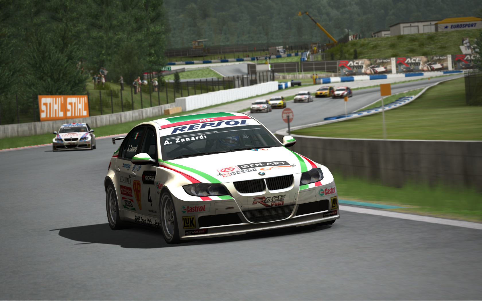 RACE On – New Artwork + Car & Track List – VirtualR.net – Sim ...