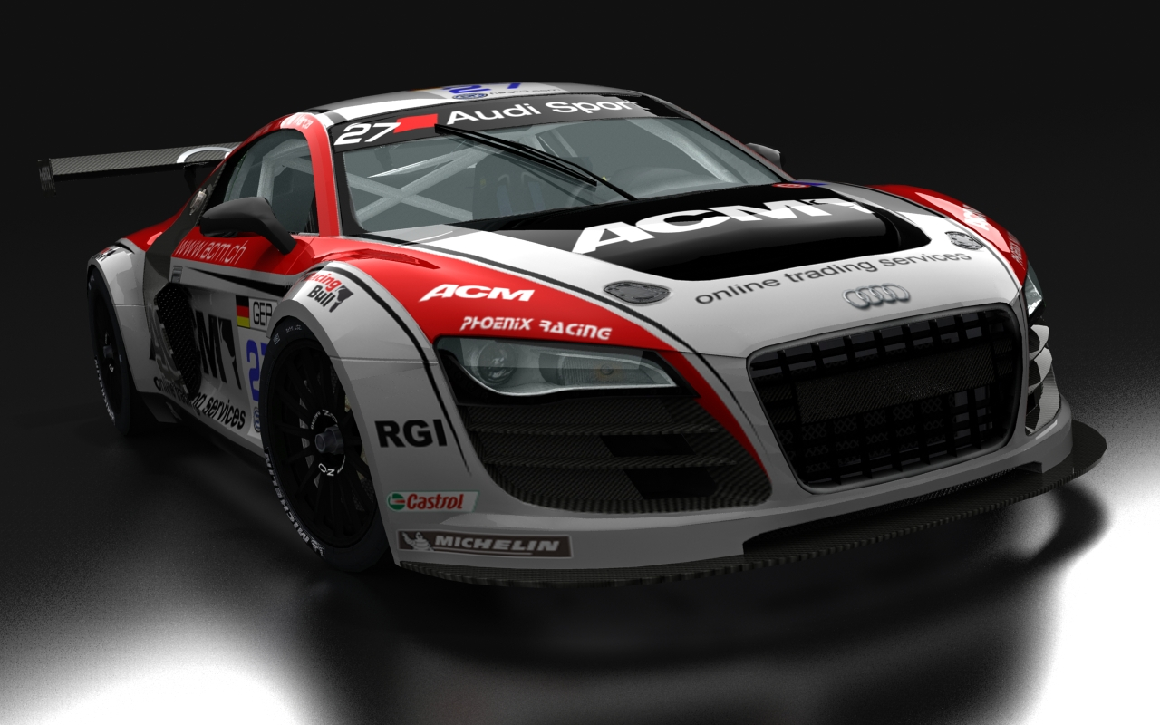 Audi R8 Lms >> Audi R8 GT3 for rFactor – New Previews – VirtualR.net – Sim Racing News