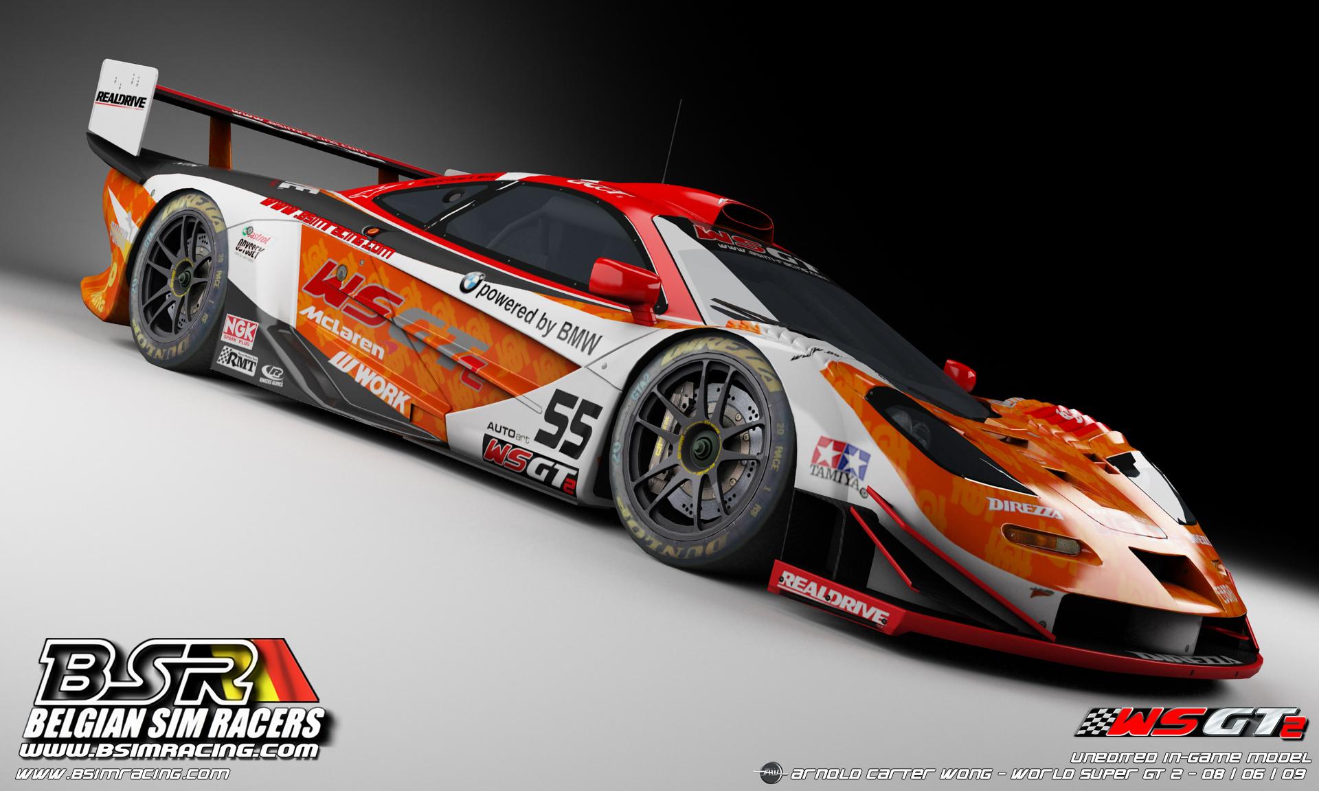 World Super GT 2 – Mclaren Wallpaper – VirtualR.net – 100% ...