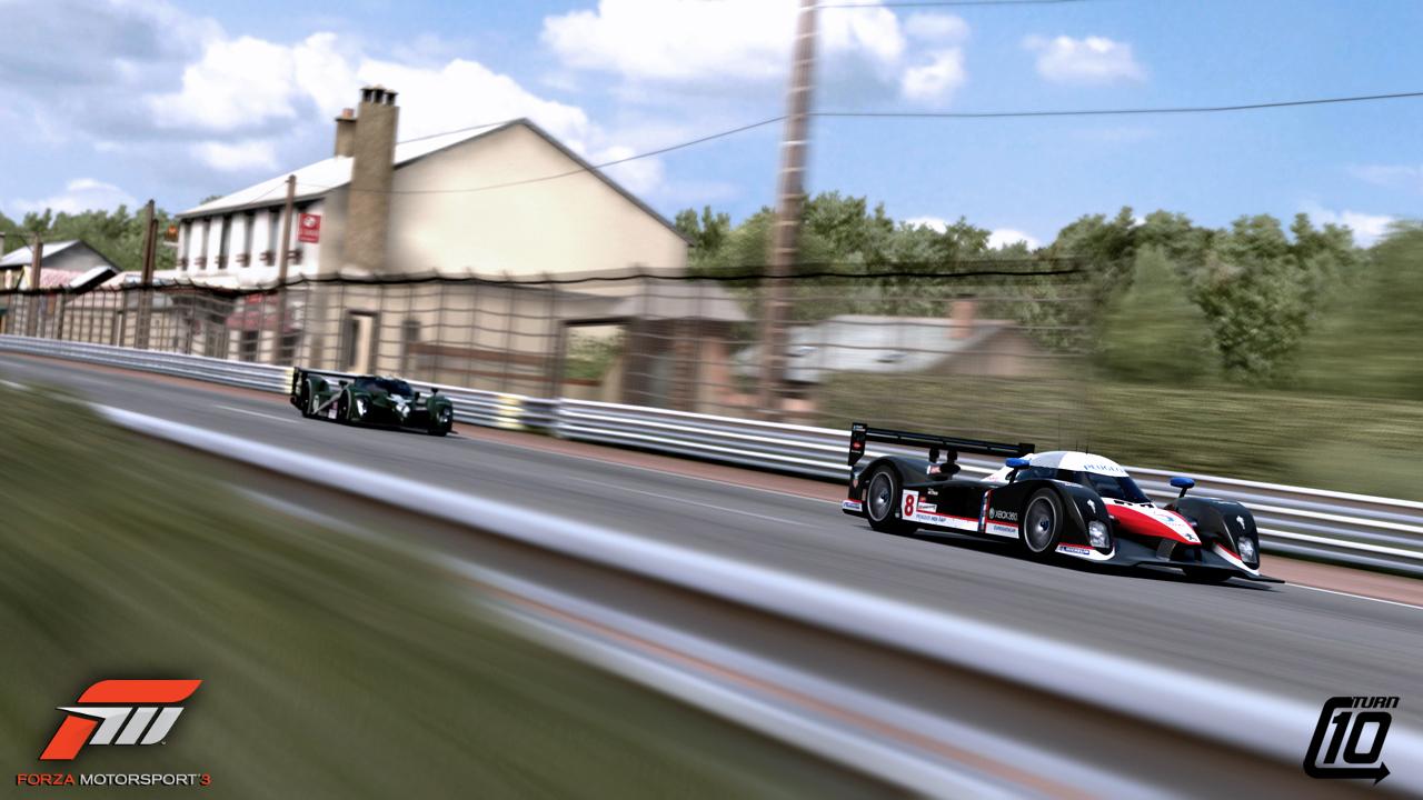 Forza Motorsport 3 - Le Mans Previews   VirtualR.net - 100 ...