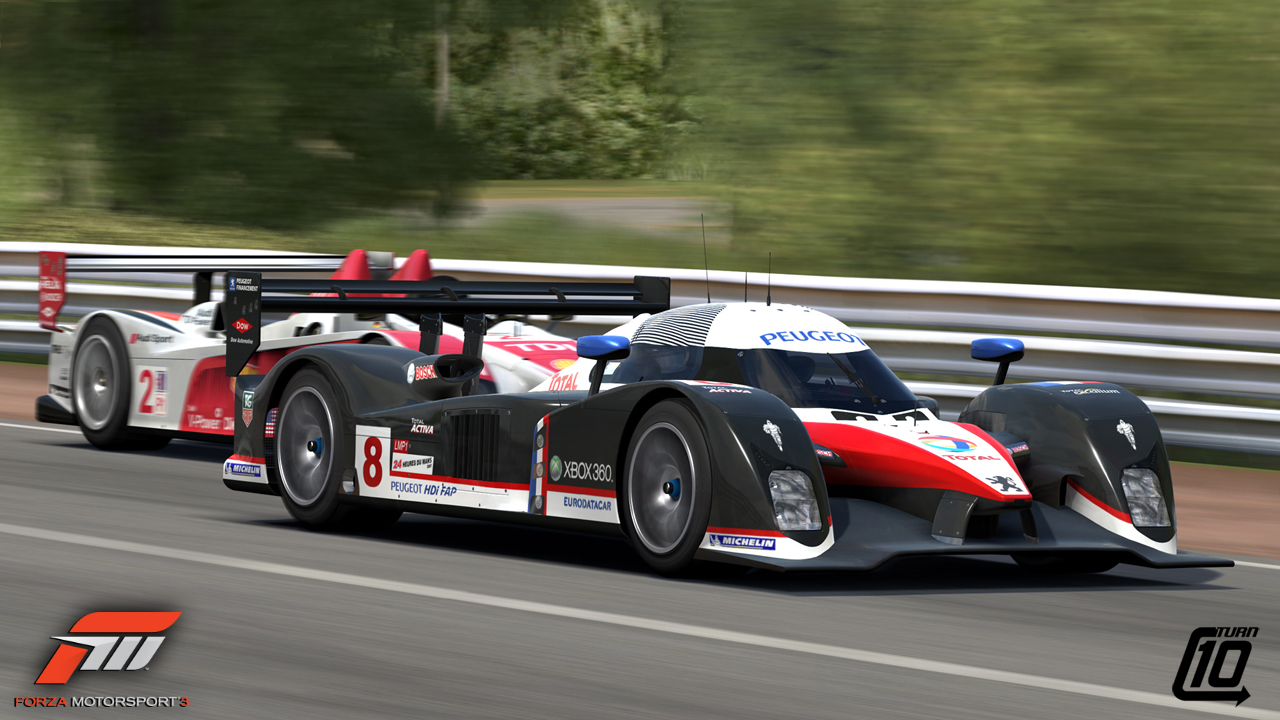 Forza Motorsport 3 – Le Mans Previews – VirtualR net – 100