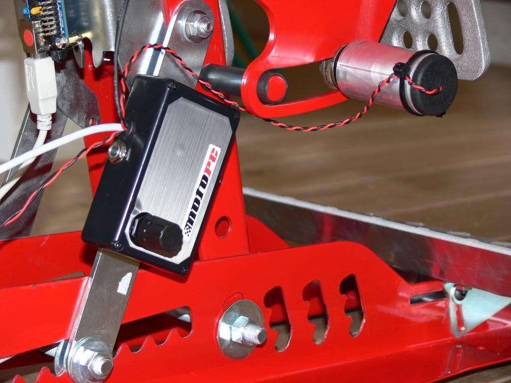 Motopc Hydraulic Sim Brake Photos Virtualr Net 100 Independent Sim Racing News