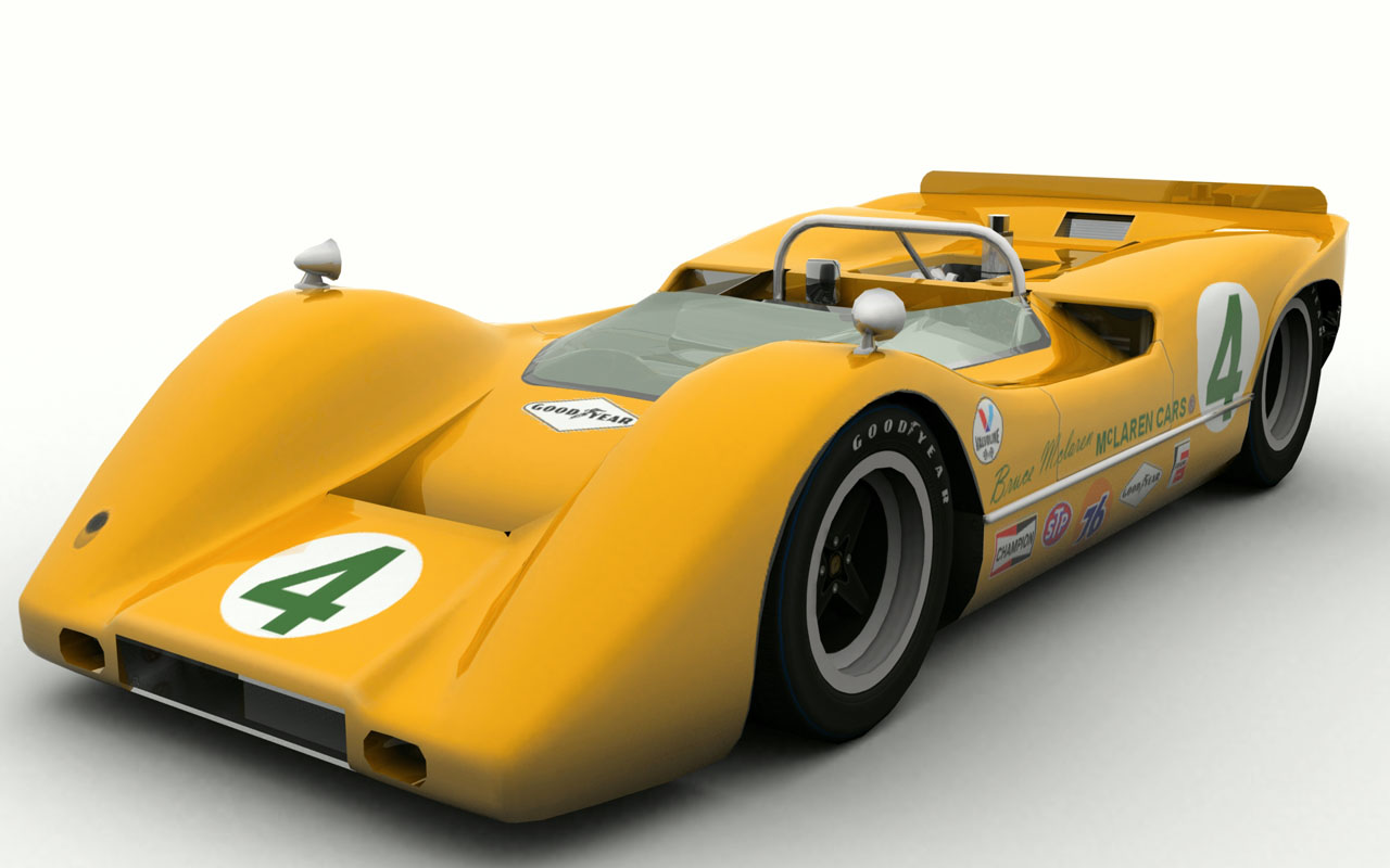 Racing In Car >> Mclaren M6A – First Previews – VirtualR.net – Sim Racing News