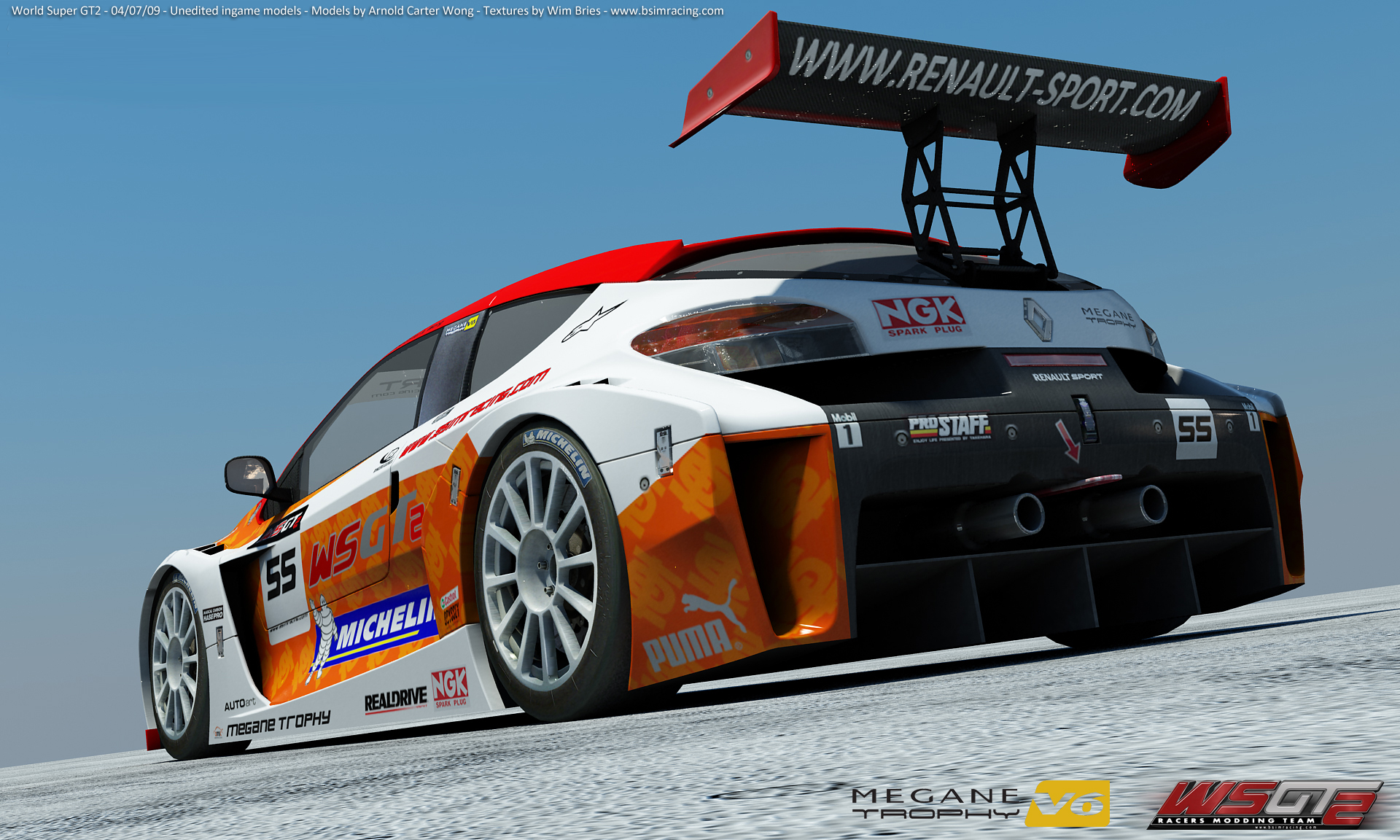 Megane Trophy Car Renders Virtualr Sim Racing News