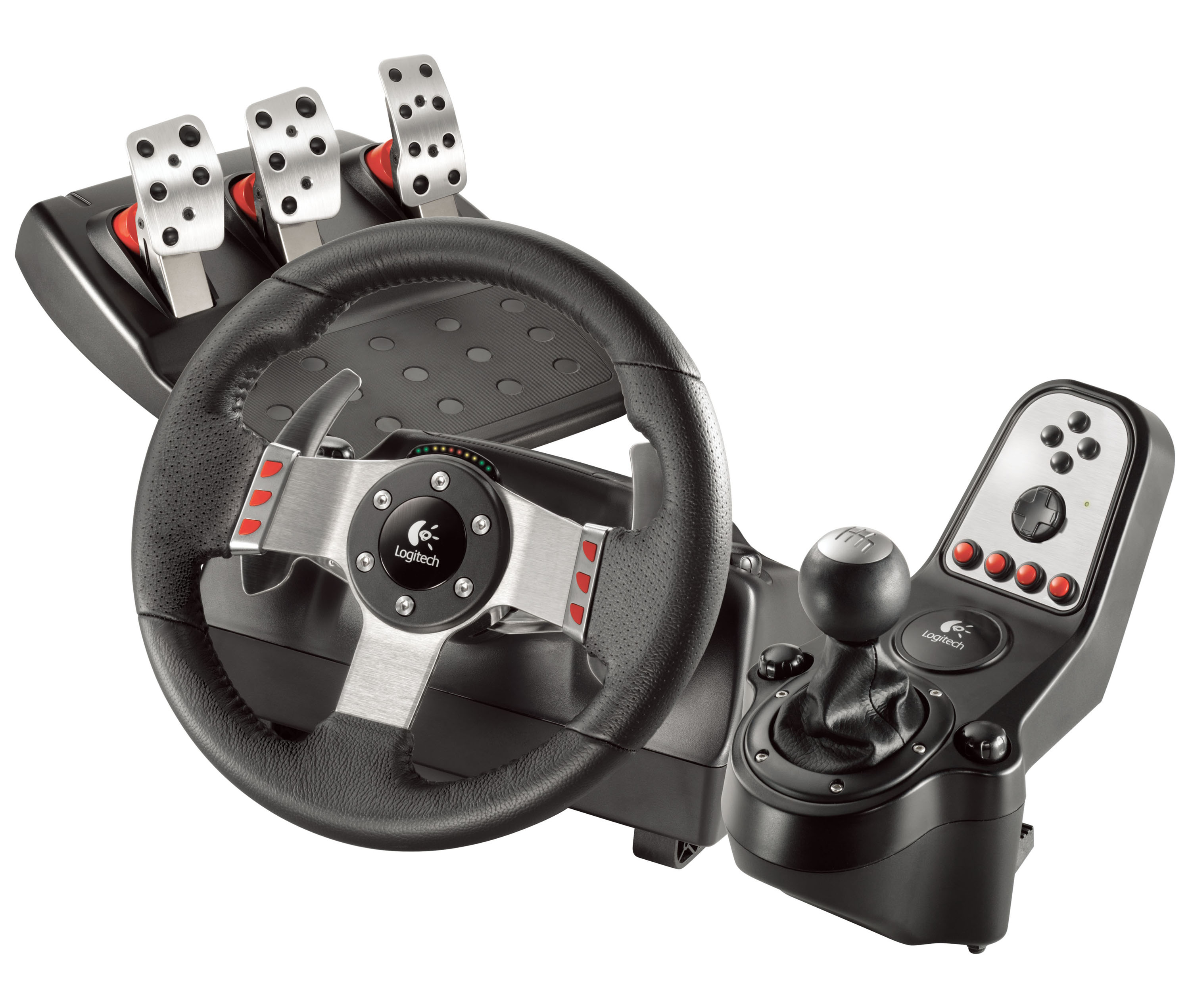 Logitech G27 Steering Wheel Unveiled Virtualr Net Sim Racing News