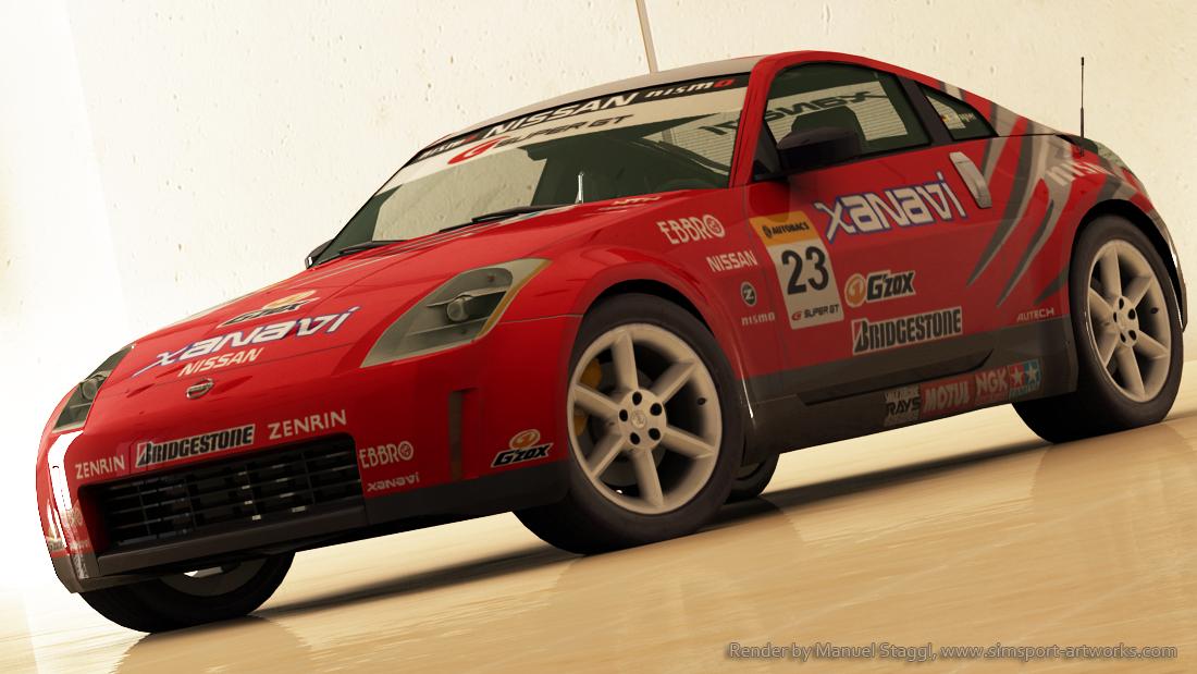 Nissan 350Z road cars for rFactor, GTR2 & GTR Evolution,