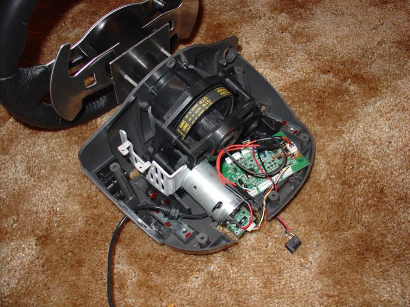 here someone fixed it with glue http://wwwcmlaserservicecom/page_g25_g27_optical_encoder_wheelhtml