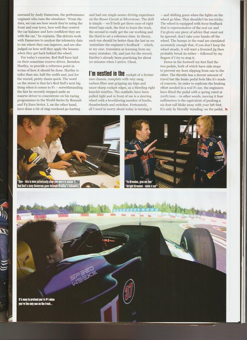 Driving Red Bull's rFactor Pro Simulator – VirtualR net