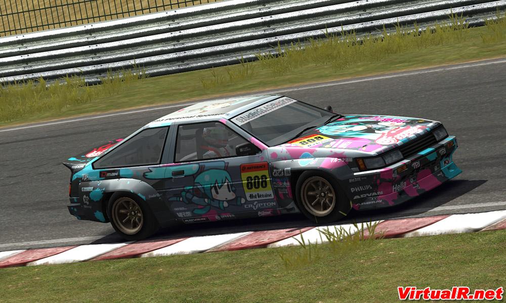 Toyota Ae86 For Race 07 Gtr Evolution Released