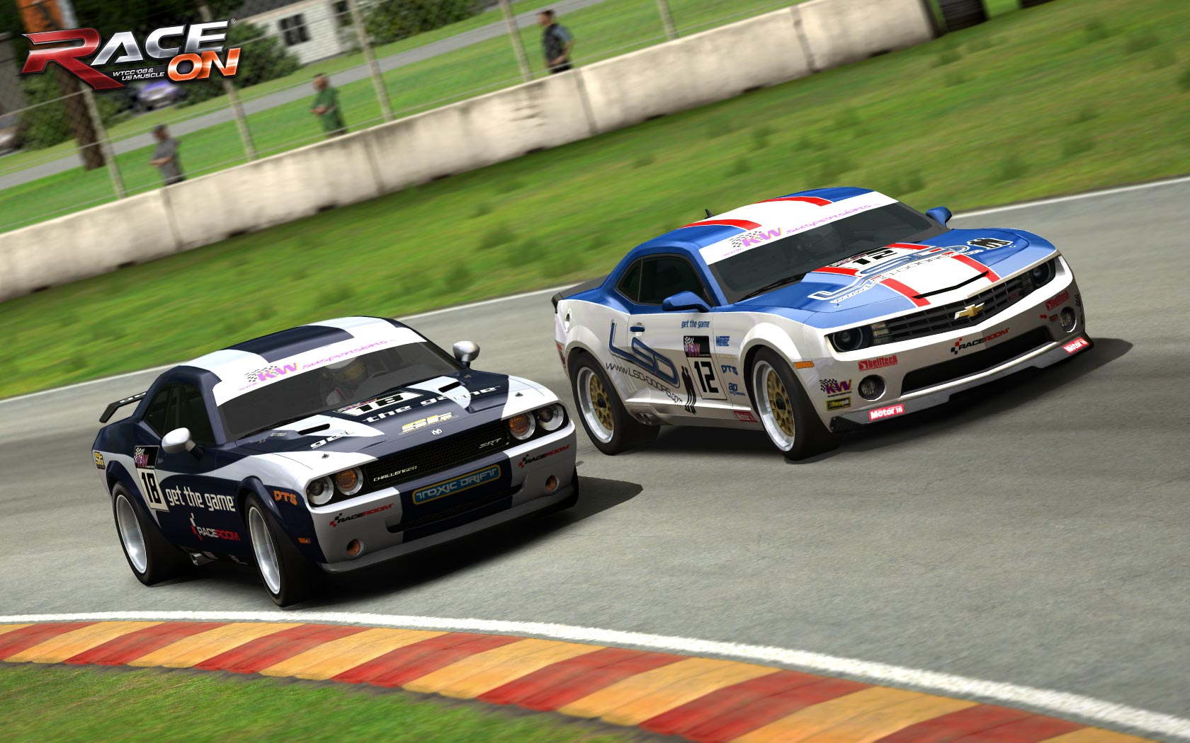 Race On Five New Muscle Car Artwork Previews Virtualr Net 100