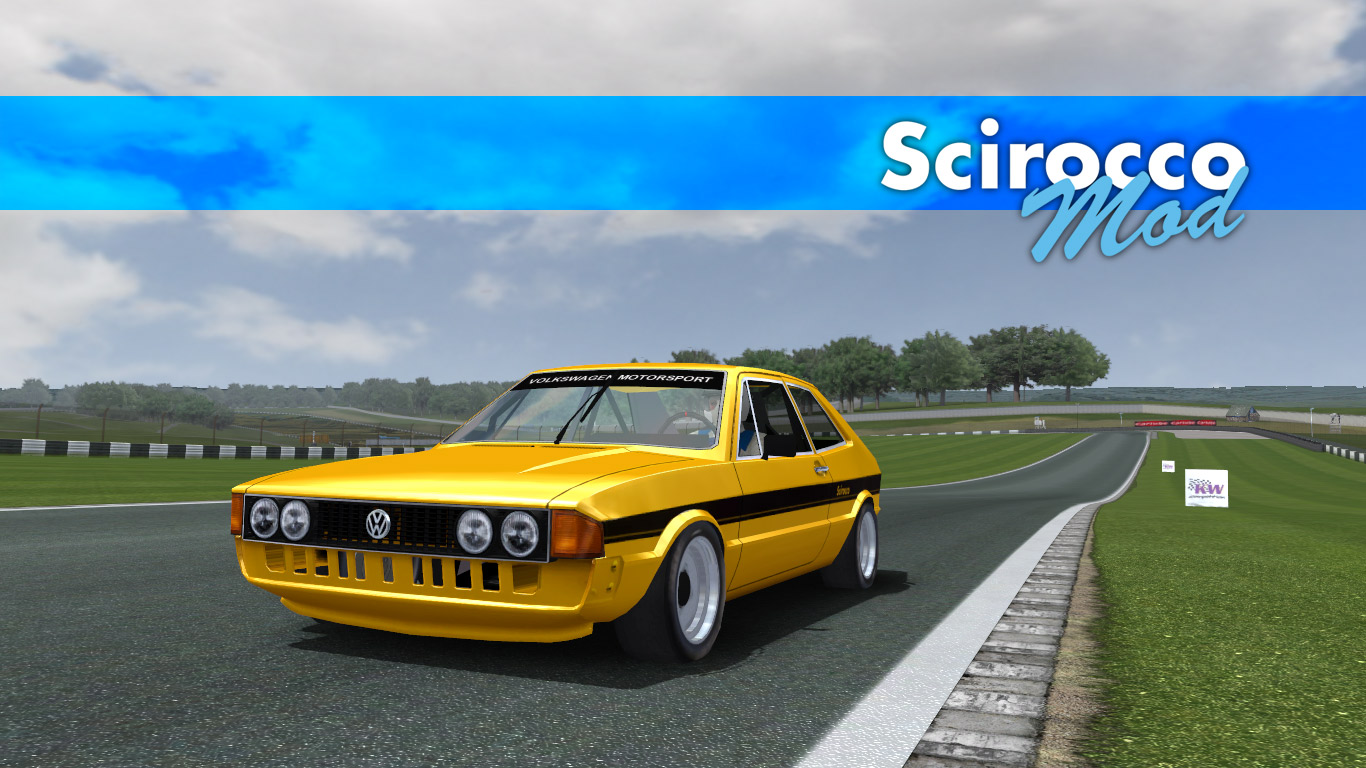 vw scirocco 1 for gt legends new previews. Black Bedroom Furniture Sets. Home Design Ideas