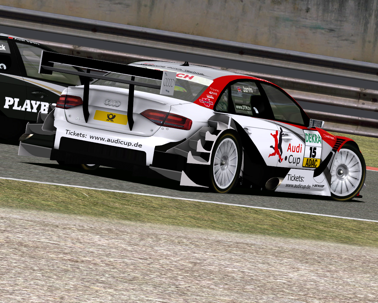Dtm 2009 By Team Lmt New Preview Material Virtualr Net