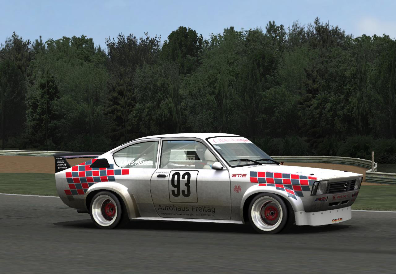opel kadett c coupe four new previews sim racing news. Black Bedroom Furniture Sets. Home Design Ideas