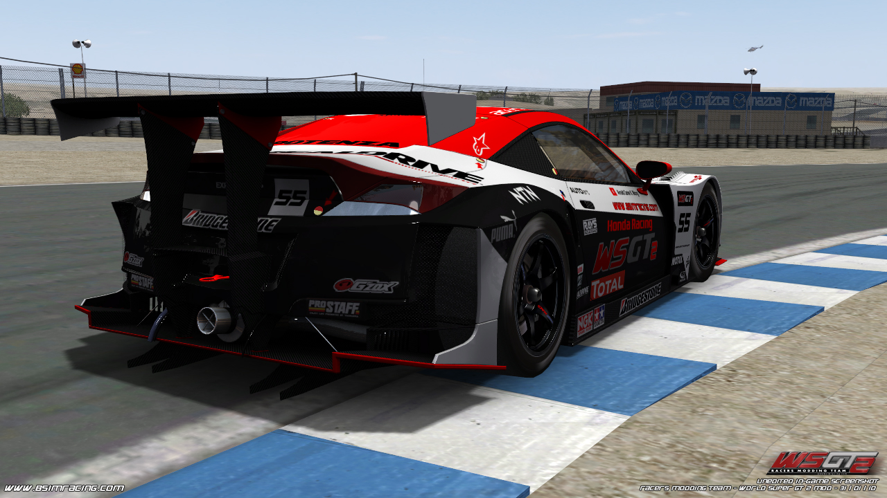 world super gt 2 honda nsx in game virtualr sim racing Car Pictures