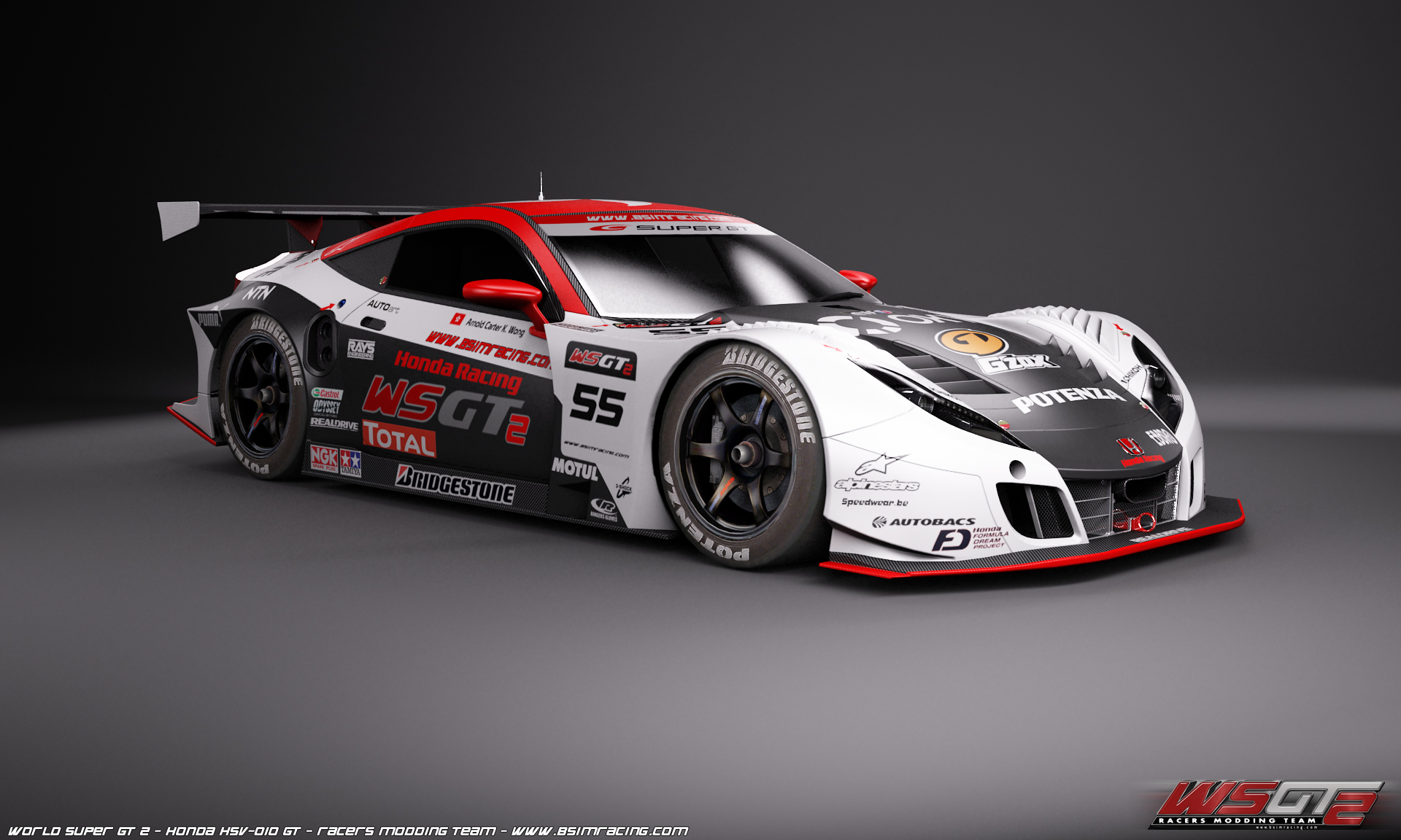 Ordinaire World Super Gt 2 First Honda Hsv 010 In Game Previews Virtualr