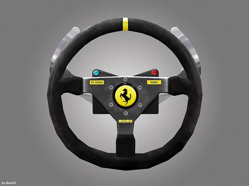 hd steering wheels for gtr2 released. Black Bedroom Furniture Sets. Home Design Ideas