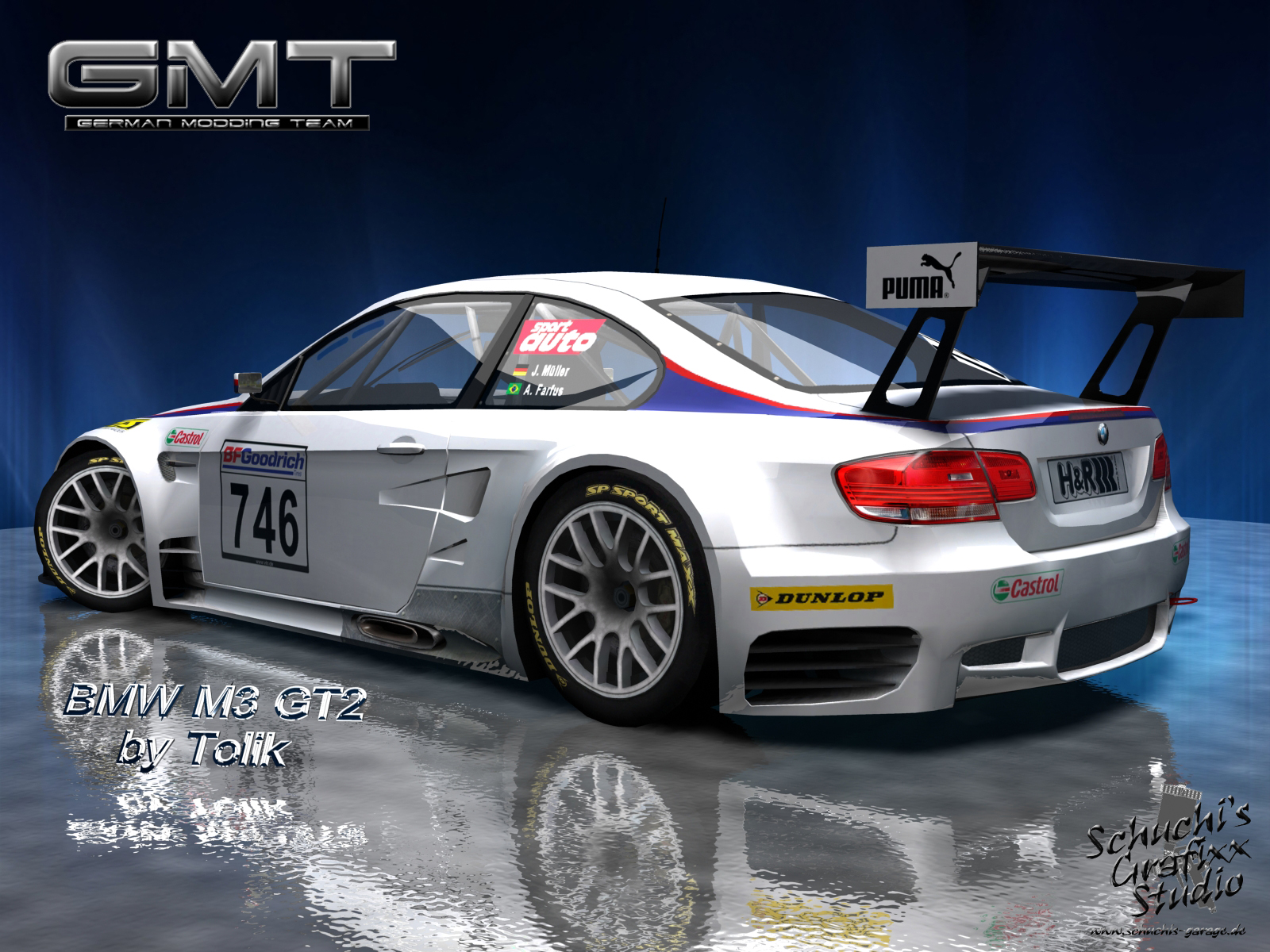 VLN 2009 by Team GMT – Two New BMW M3 Previews – VirtualR.net – 100 ...