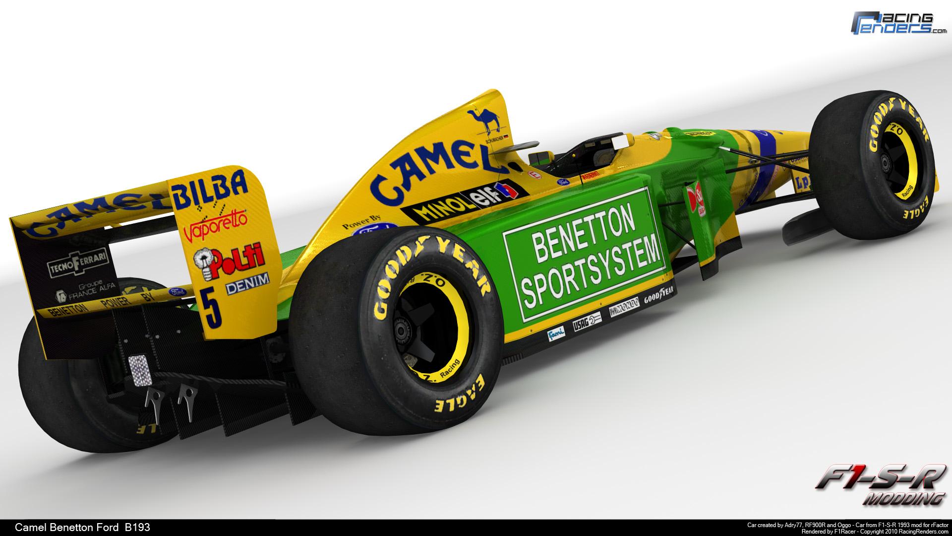 Rfactor F1 1993 >> Formula 1 Car request (Benetton B193)