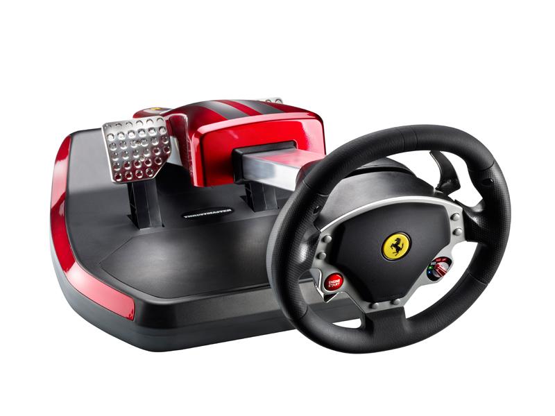 Thrustmaster Reveals Ferrari Wireless Gt Cockpit 430