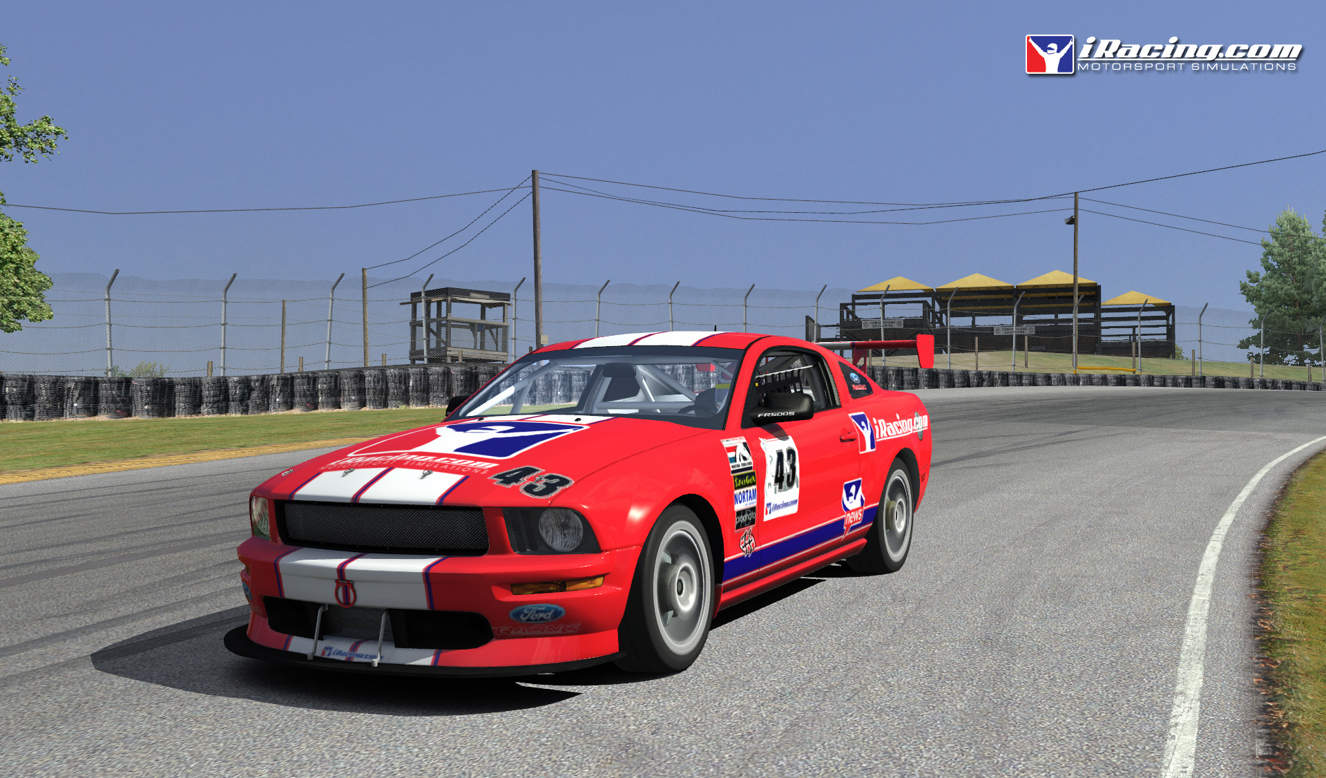 Iracing Com New Mid Ohio Amp Ford Mustang Previews