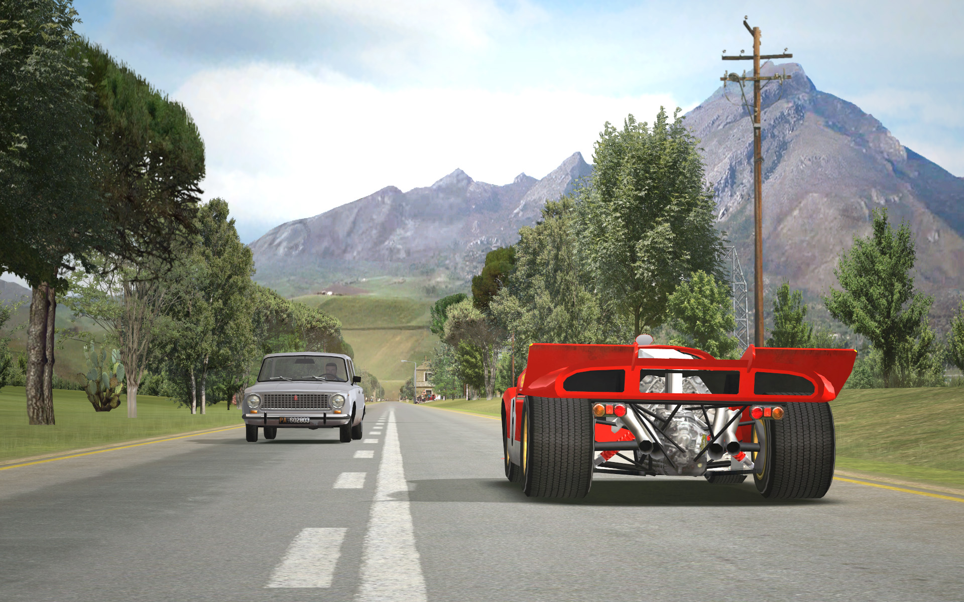 Targa Florio For Rfactor Sicily Traffic Previews