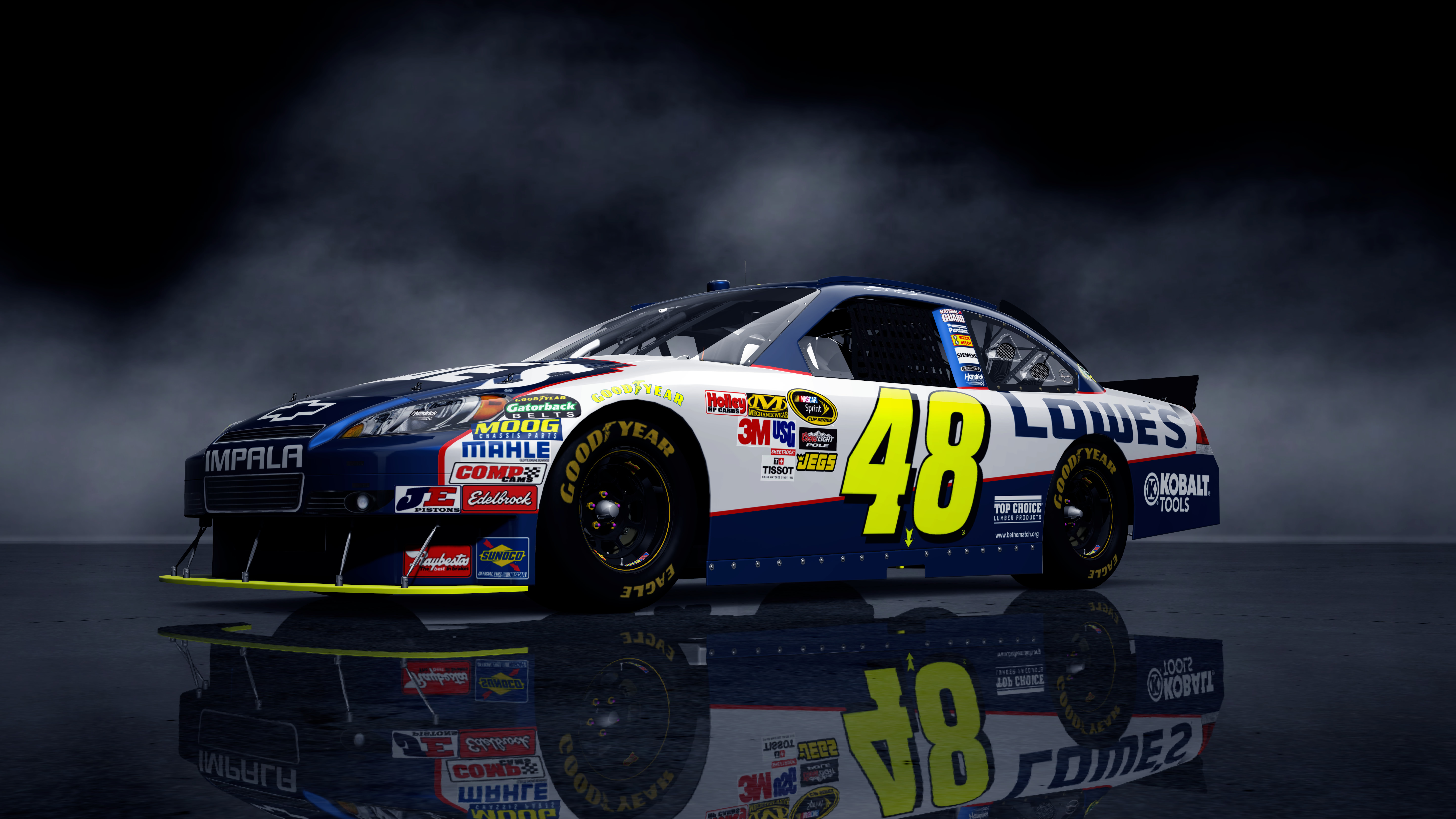 2010 jimmie johnson 48 lowe chevrolet impala 73upfront. Cars Review. Best American Auto & Cars Review