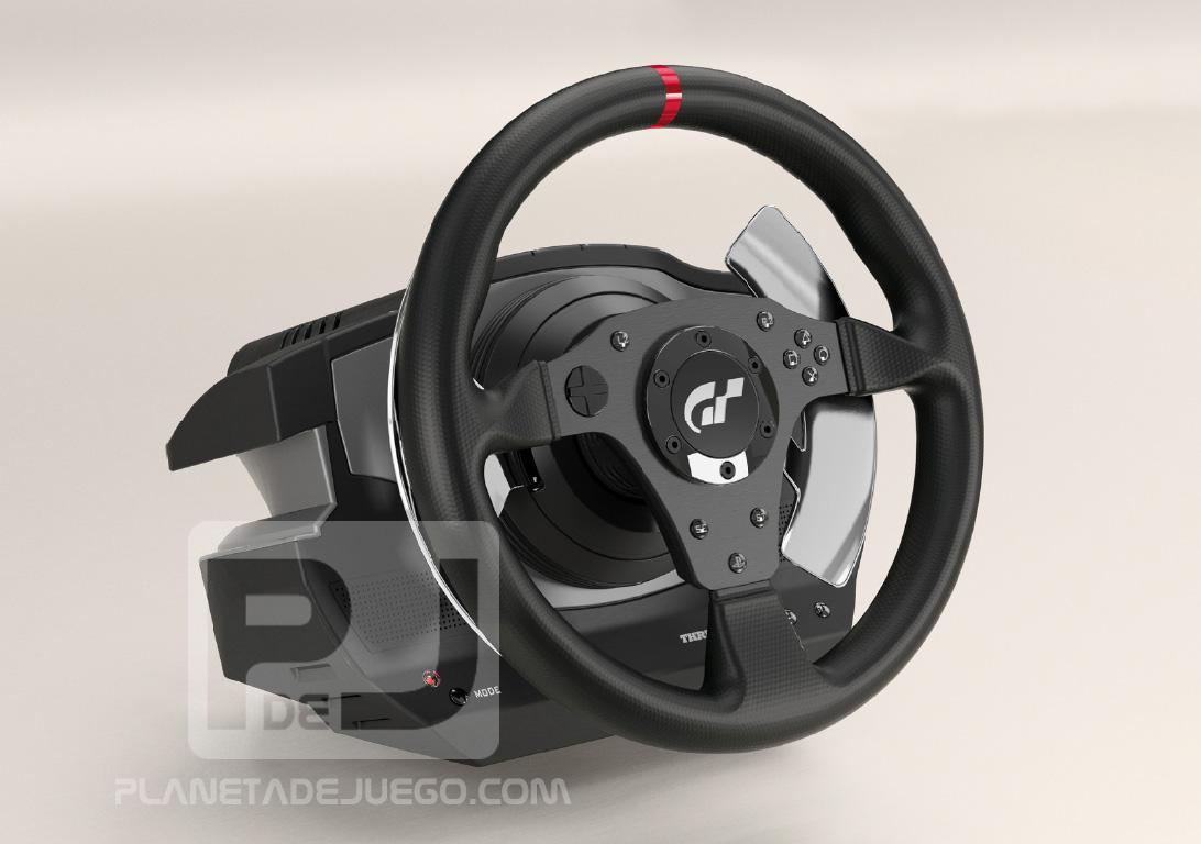 thrustmaster t500rs steering wheel first photos specs sim racing news. Black Bedroom Furniture Sets. Home Design Ideas