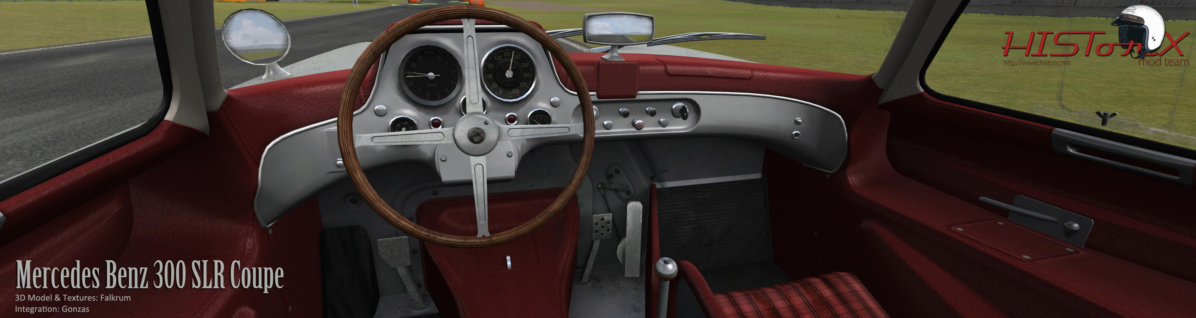 Historic GT & Touring Car 2 0 – 300SLR Cockpit Previews
