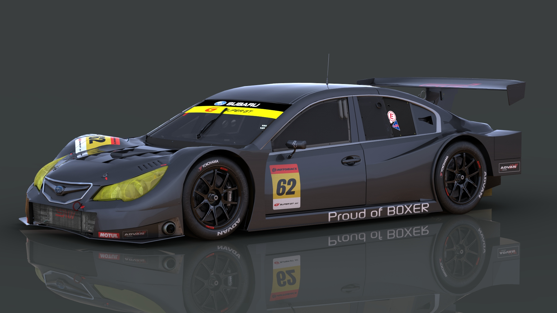 First Team Subaru >> Subaru Legacy B4 GT300 – First Previews – VirtualR.net – 100% Independent Sim Racing News