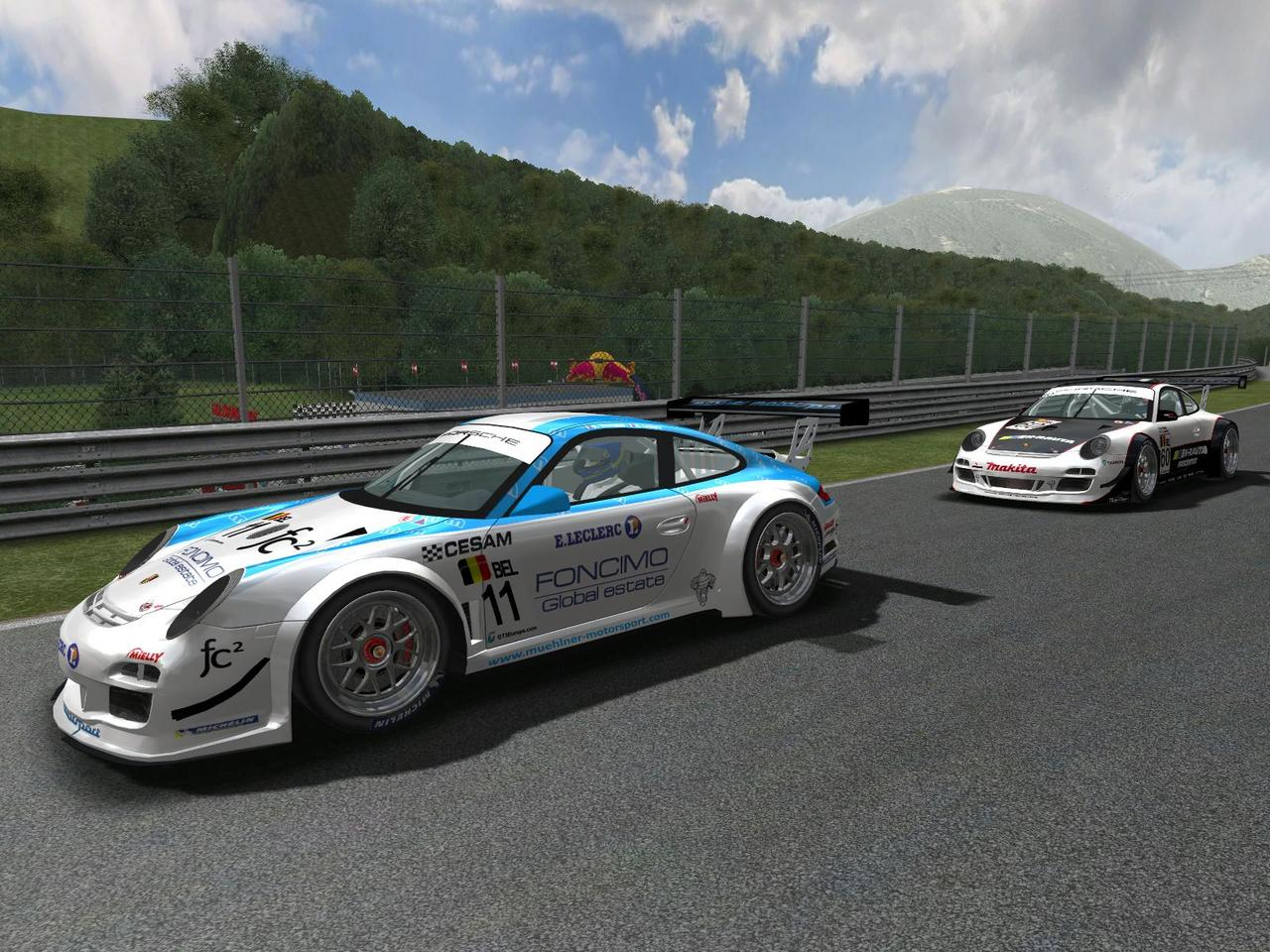 fia gt3 for rfactor porsche 997 gt3r previews. Black Bedroom Furniture Sets. Home Design Ideas