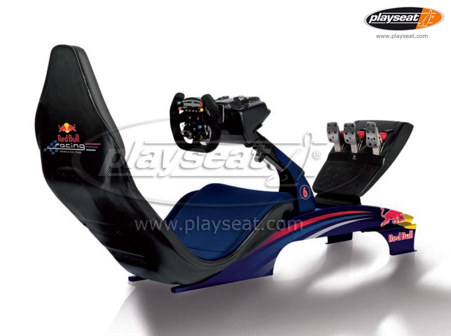 Playseat F1 Red Bull Unveiled Virtualr Net 100