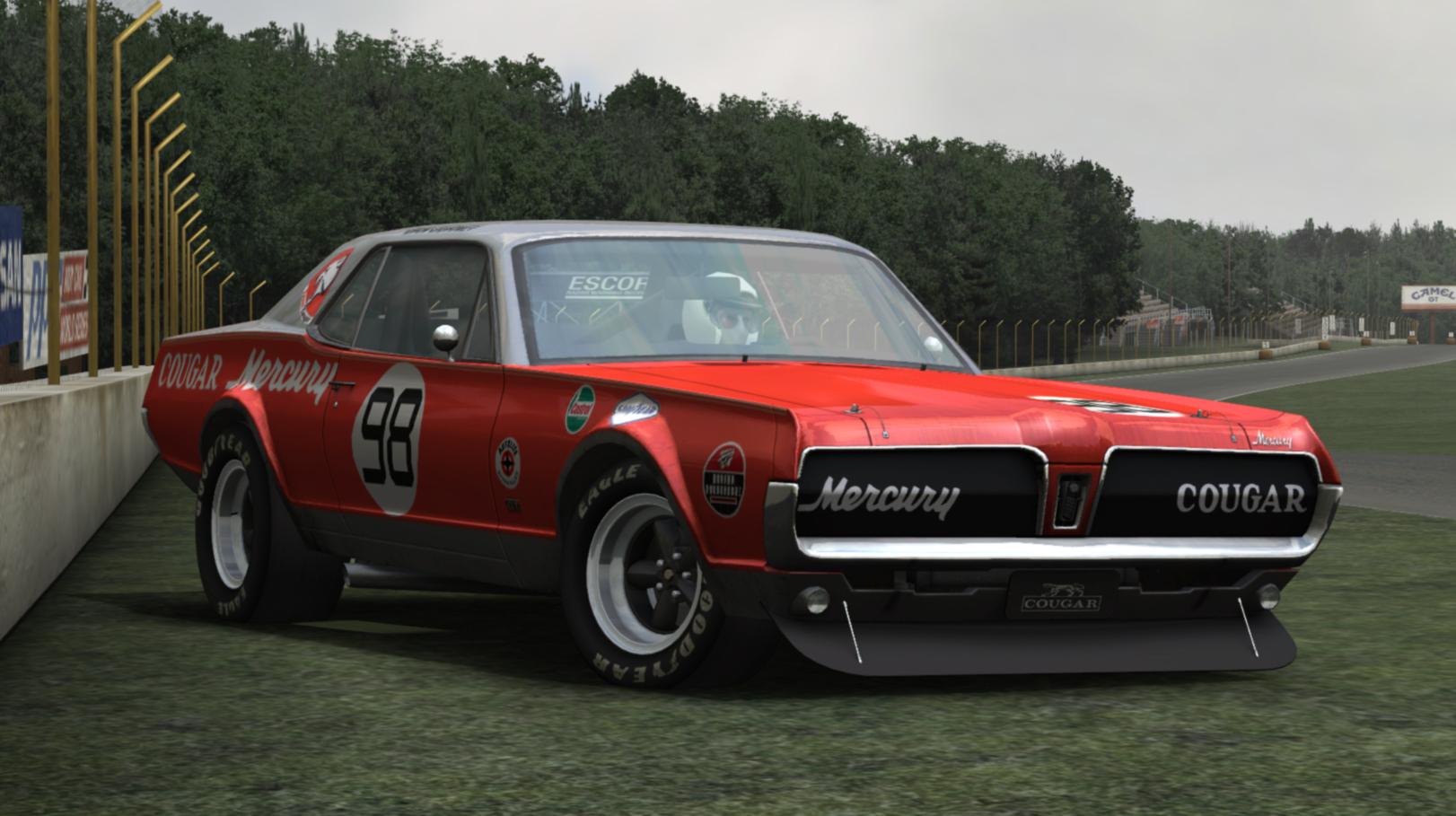 mercury cougar 67 for gt legends � new previews � virtualr