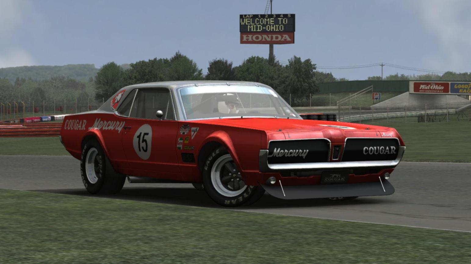Mercury Cougar 67 For Gt Legends Released Virtualr Net