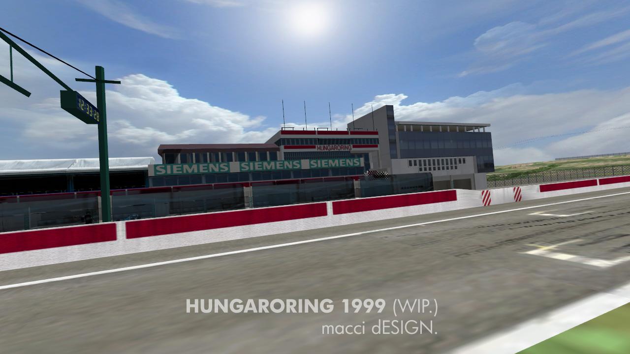 Hungaroring 1999 – First Previews – VirtualR net – 100