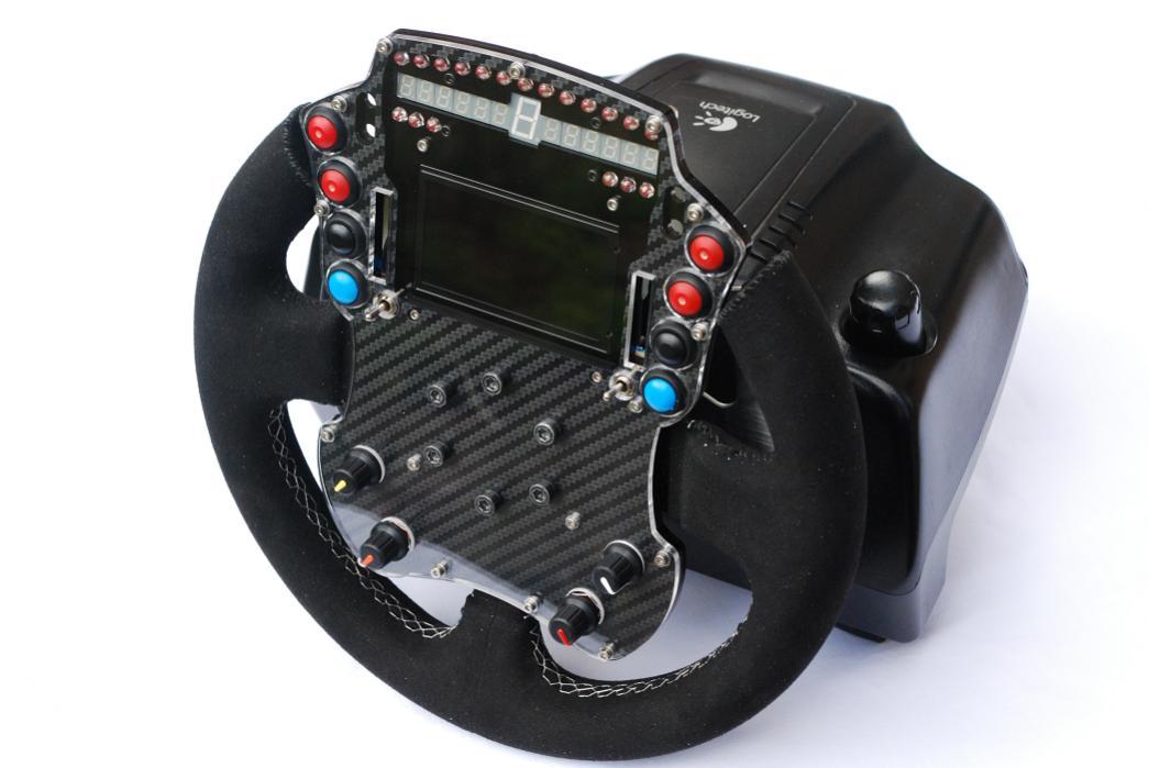 LMS Style Wheel for Logitech G25 – Photos – VirtualR net