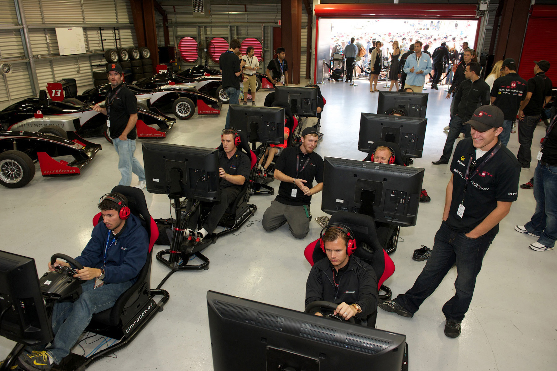 ignite opens simraceway performance center sim racing news. Black Bedroom Furniture Sets. Home Design Ideas