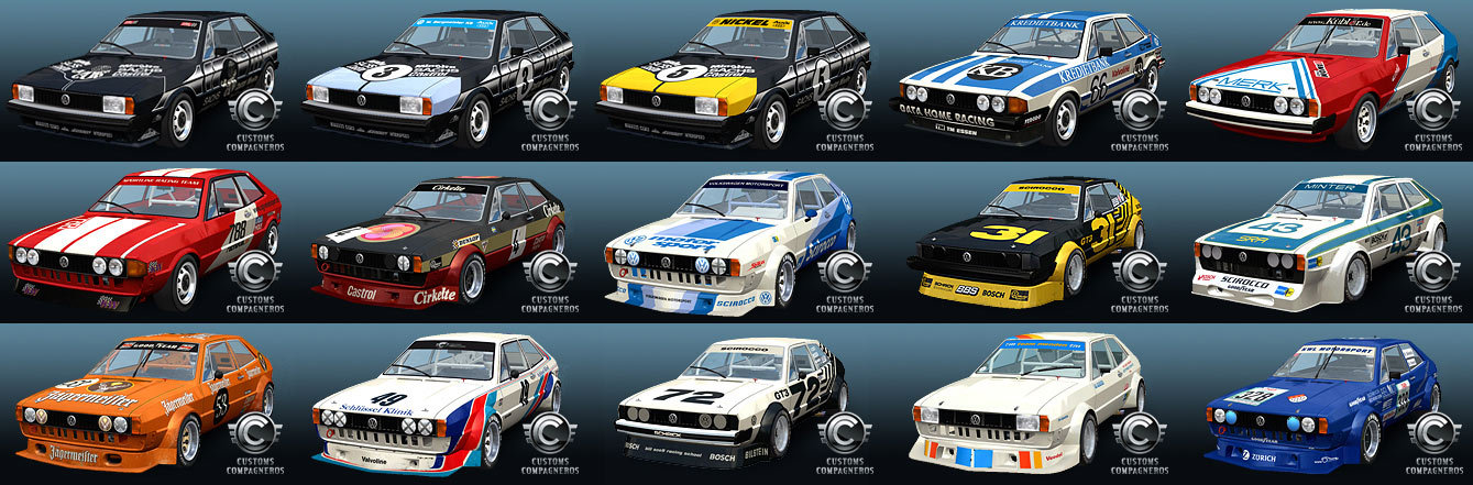 Vw Scirocco For Gt Legends Livery Amp Bodystyle Preview