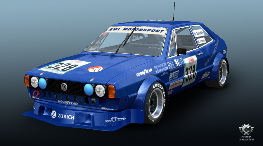 VW Scirocco R >> VW Scirocco for GT Legends – New Livery Previews – VirtualR.net – 100% Independent Sim Racing News