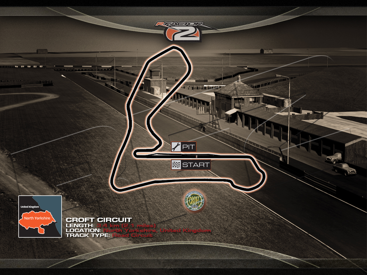 Croft for rFactor 2 – First Previews – VirtualR net – 100