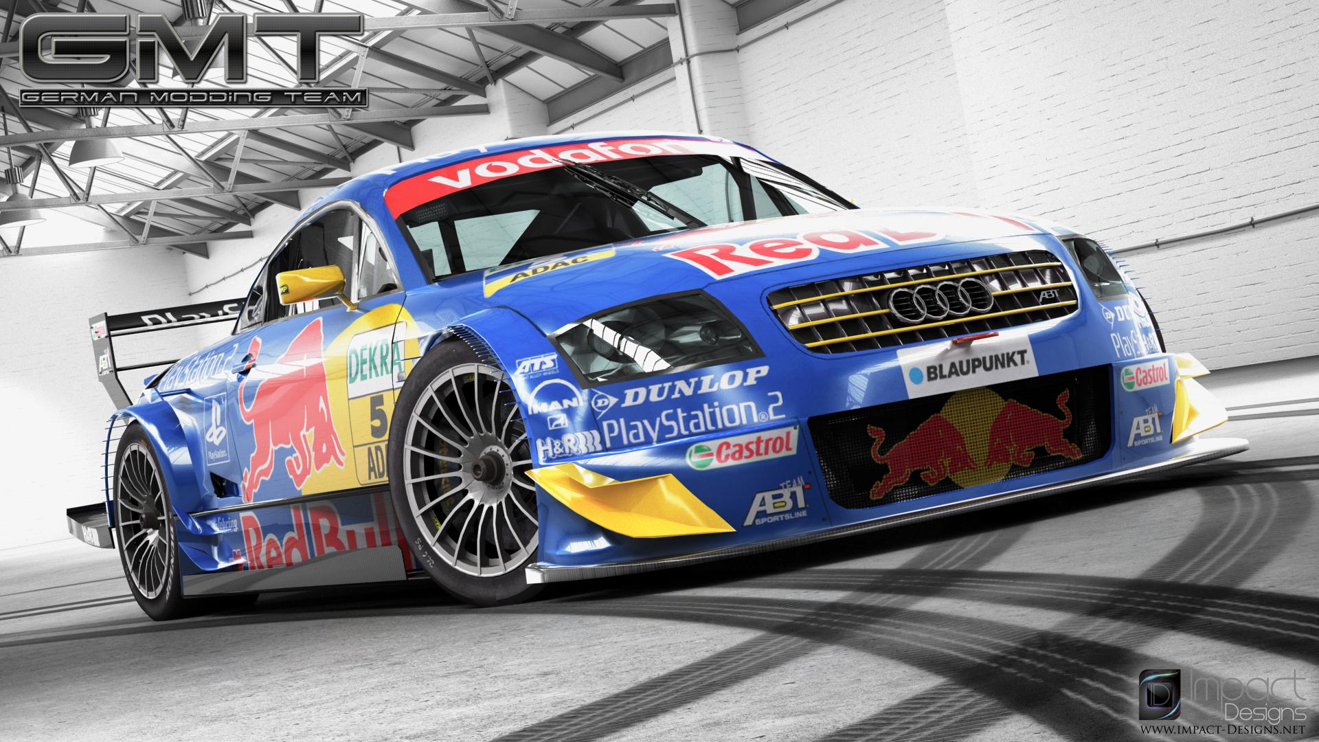 Audi tt r dtm 2003 new renders virtualr sim racing news